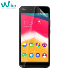 Official Wiko Rainbow Jam Screen Protector 2-in-1 Pack