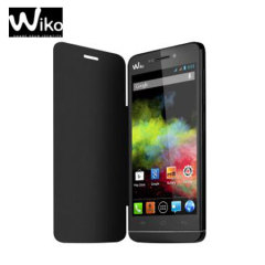 Official Wiko Wax Folio Case - Black