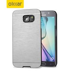 Olixar Aluminium Samsung Galaxy S6 Shell Case - Silver