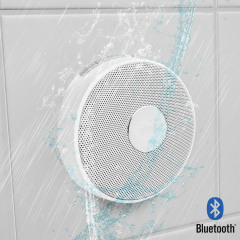 Olixar Aqualux Wireless Splash Proof Speaker - White