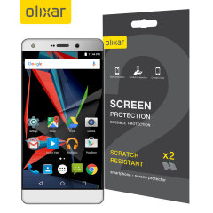 Olixar Archos Diamond 2 Plus Screen Protector 2-in-1 Pack