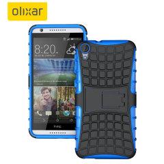 Olixar ArmourDillo HTC Desire 820 Protective Case - Blue