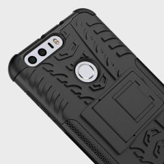 Olixar ArmourDillo Huawei Honor 8 Tough Case - Black