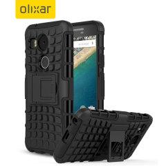 Olixar ArmourDillo Hybrid Nexus 5X Case - Black