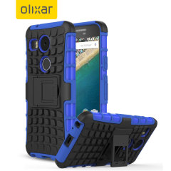 Olixar ArmourDillo Hybrid Nexus 5X Case - Blue