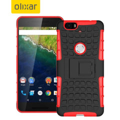 Olixar ArmourDillo Hybrid Nexus 6P Case - Red