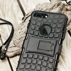 Olixar ArmourDillo iPhone 7 Plus Protective Case - Black