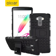 Olixar ArmourDillo LG G Stylo Tough Case - Black
