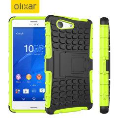 Olixar ArmourDillo Sony Xperia Z3 Compact Protective Case - Green