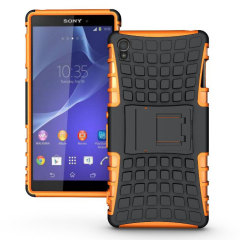 Olixar ArmourDillo Sony Xperia Z3 Protective Case - Orange