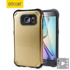 Olixar ArmourLite Samsung Galaxy S6 Case - Gold