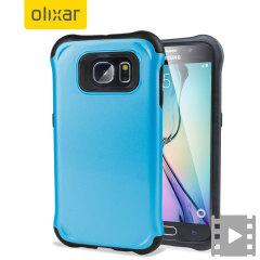 Olixar ArmourLite Samsung Galaxy S6 Case - Sky Blue