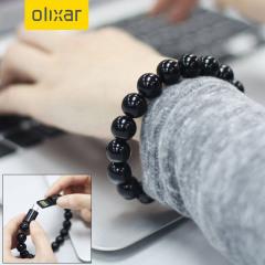 Olixar Bead Bracelet Micro USB Cable - Black