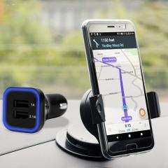 Olixar DriveTime HTC U11 Car Holder & Charger Pack