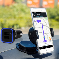 Olixar DriveTime Huawei Honor 6X Car Holder & Charger Pack