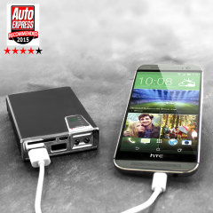 Olixar enCharge 10,000mAh Dual USB Power Bank and Card Reader