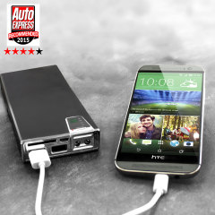 Olixar enCharge 15,000mAh Dual USB Portable Charger and Card Reader