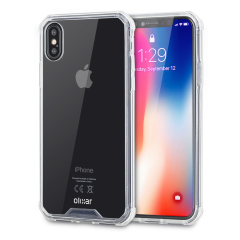 Olixar ExoShield Tough Snap-on iPhone 8 Case  - Crystal Clear
