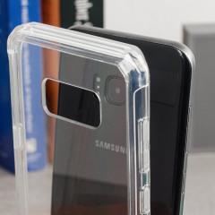 Olixar ExoShield Tough Snap-on Samsung Galaxy S8 Plus Case - Clear