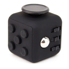 Olixar Fidget Cube Anti-Anxiety Stress Relief Toy - Black