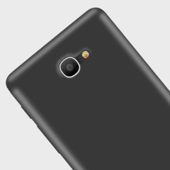 Olixar FlexiShield Alcatel POP 4S Gel Case - Smoke Black