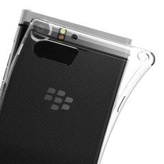 Olixar FlexiShield BlackBerry KeyONE Gel Case - 100% Clear