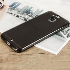 Olixar Flexishield HTC Bolt Gel Case - Smoke Black