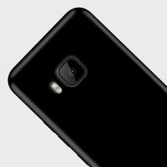 Olixar FlexiShield HTC One S9 Gel Case - Solid Black