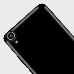 Olixar FlexiShield Huawei Y6 Gel Case - Solid Black