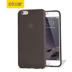 Olixar FlexiShield iPhone 6 Plus Gel Case - Smoke Black