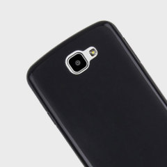 Olixar FlexiShield LG K4 Gel Case - Solid Black