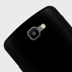 Olixar FlexiShield LG Spree Gel Case - Solid Black