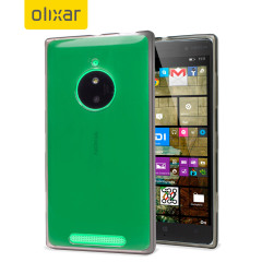 Olixar FlexiShield Nokia Lumia 830 Gel Case - Smoke Black