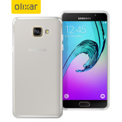 Olixar FlexiShield Samsung Galaxy A5 2016 Gel Case - Frost White
