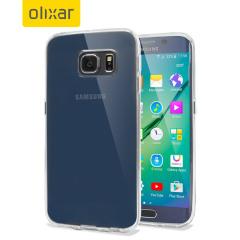 Olixar FlexiShield Samsung Galaxy S6 Edge Gel Case - 100% Clear