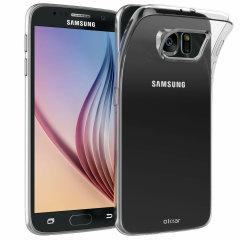 Olixar FlexiShield Samsung Galaxy S6 Gel Case - 100% Clear