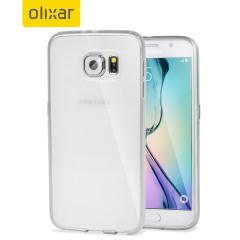 Olixar FlexiShield Samsung Galaxy S6 Gel Case - Frost White