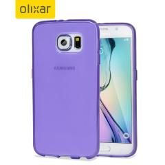 Olixar FlexiShield Samsung Galaxy S6 Gel Case - Purple