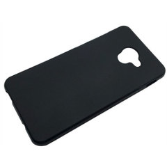 Olixar FlexiShield Vodafone Smart Ultra 7 Gel Case - Solid Black