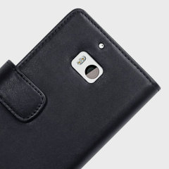 Olixar Genuine Leather Nokia Lumia 930 Wallet Case - Black