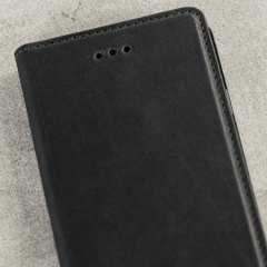Olixar Genuine Leather Samsung Galaxy J3 2017 Executive Wallet Case