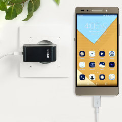 Olixar High Power 2.4A Huawei Honor 7 Wall Charger - EU Mains