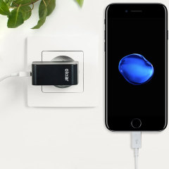 Olixar High Power 2.4A iPhone 7 Wall Charger - EU Mains