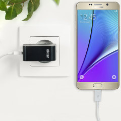 Olixar High Power 2.4A Samsung Galaxy Note 5 Charger - EU Mains
