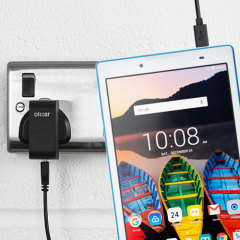 Olixar High Power Lenovo Tab3 8 / 7 Charger - Mains