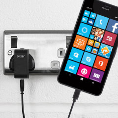 Olixar High Power Microsoft Lumia 640 XL Charger - Mains