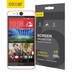Olixar HTC Desire Eye Screen Protector 5-in-1 Pack