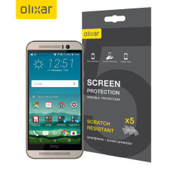 Olixar HTC One M9 Screen Protector 5-in-1 Pack