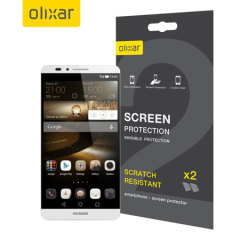Olixar Huawei Ascend Mate 7 Screen Protector 2-in-1 Pack