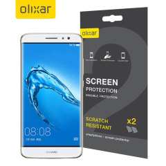 Olixar Huawei G9 Plus Screen Protector 2-in-1 Pack